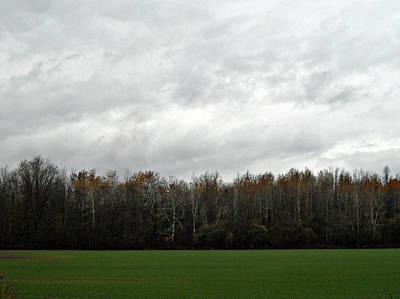 Photograph - Country Autumn Drive by Cyryn Fyrcyd