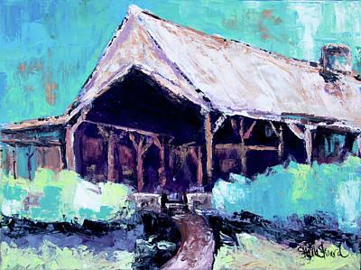 Painting - Country Barn by Shaina Stinard