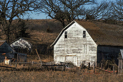 Photograph - Country Barn Standing by Edward Peterson