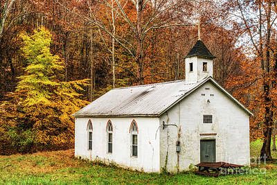 Photograph - Country Church For Sale by Thomas R Fletcher
