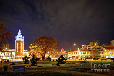 Photograph - Country Club Plaza From The East by Jean Hutchison