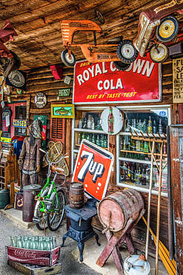 Photograph - Country Collectibles by Debra and Dave Vanderlaan