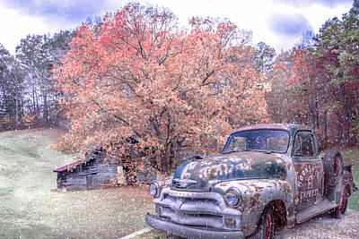 Photograph - Country Moonshine At First Frost by Debra and Dave Vanderlaan