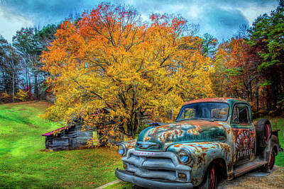Photograph - Country Moonshine In Hdr Detail by Debra and Dave Vanderlaan