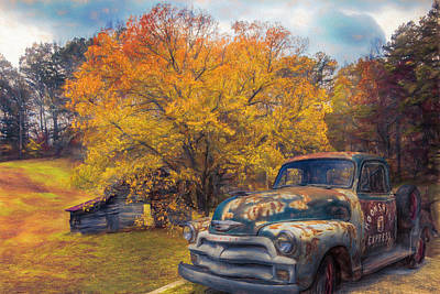 Photograph - Country Moonshine Painting by Debra and Dave Vanderlaan
