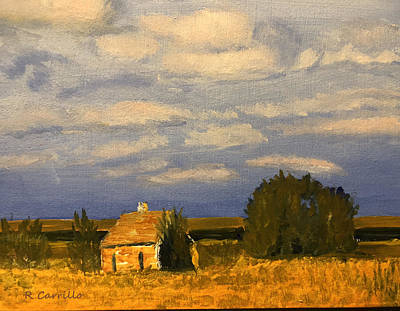 Ruben Carrillo Wall Art - Painting - Country Morning by Ruben Carrillo