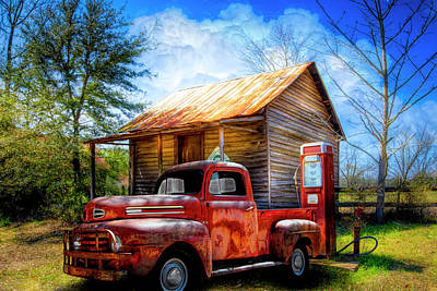 Photograph - Country Olden Days by Debra and Dave Vanderlaan