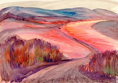 Painting - Country Road by Irina Dobrotsvet
