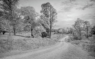 Photograph - Country Road by John M Bailey
