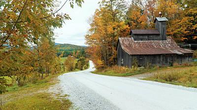 Photograph - Country Road by John Rivera