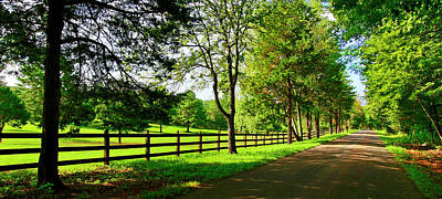 Photograph - Country Road Southern Virginia Blue Ridge Appalachian Mountains by The American Shutterbug Society