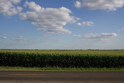 Photograph - Country Road Summer Flats by Dylan Punke