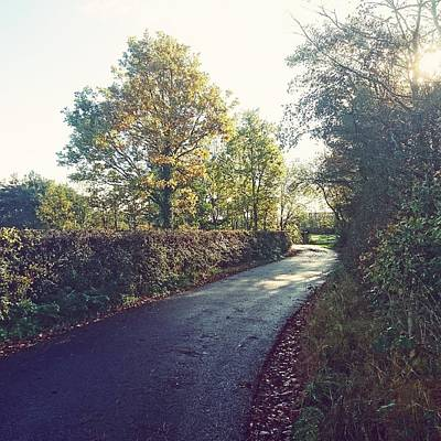 Photograph - Country Roads by Samuel Pye