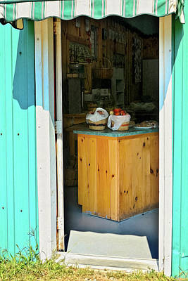 Art Print featuring the photograph Country Store by Tatiana Travelways