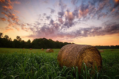 Photograph - Country Sunrise by Mark Guinn