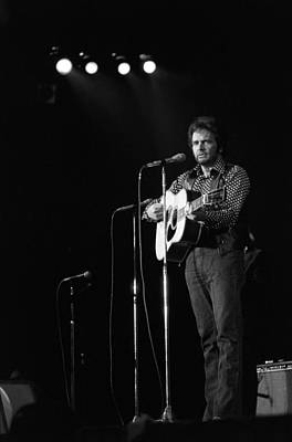 Photograph - Country Western Musician Merle Haggard by Waring Abbott