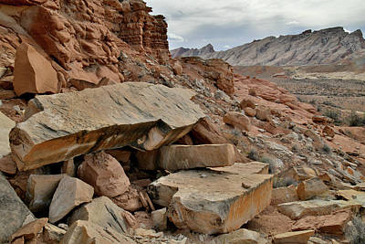 Photograph - County Road 1028 View Of San Rafael Swell by Ray Mathis