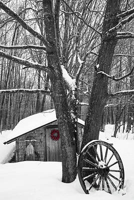 Photograph - County Winter by Alana Ranney