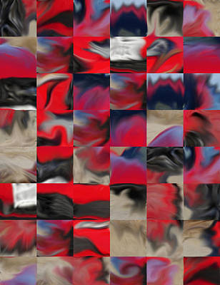Digital Art - Coupe Rouge by Richard Reeve