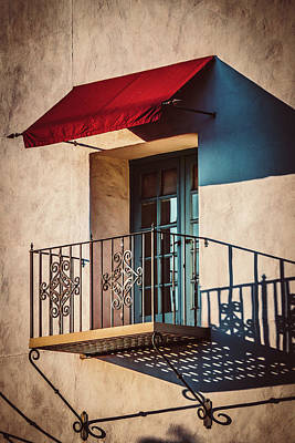 Photograph - Courthouse Balcony by Brett Nelson