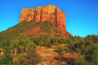 Courthouse Butte Art Print by Fernando Margolles