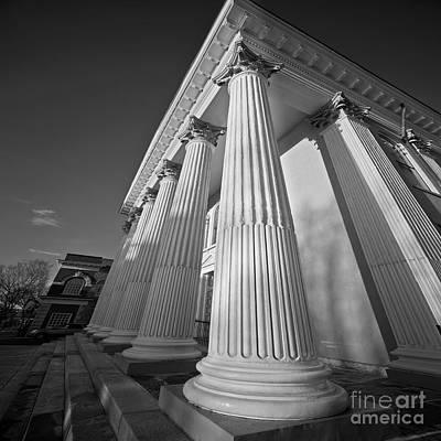 Photograph - Courthouse Columns by Patrick M Lynch