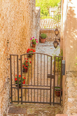 Rusty Trucks - Courtyard Of Ancient Medieval House by Vivida Photo PC