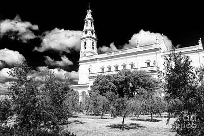 Photograph - Courtyard Of Fatima Portugal by John Rizzuto