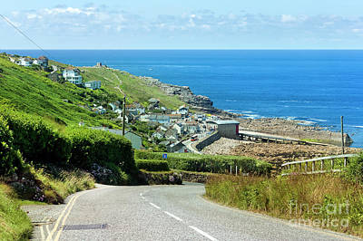 Photograph - Cove Hill Sennen Cove by Terri Waters
