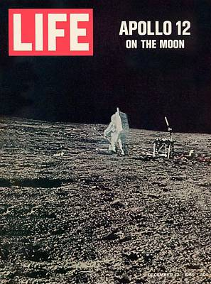 Photograph - Cover Of Life Magazine Dated 12-12-1969 by Time Life Pictures