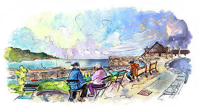 Painting - Coverack 04 by Miki De Goodaboom