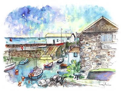 Painting - Coverack 05 by Miki De Goodaboom