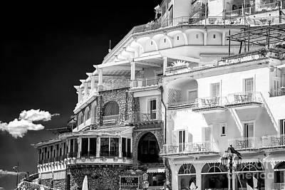 Photograph - Covi Dei Saraceni Positano Infrared by John Rizzuto