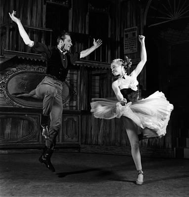 Photograph - Cowboy Ballet by John Chillingworth