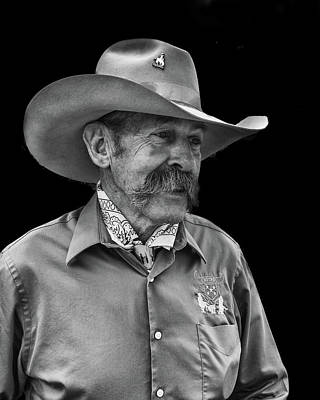 Photograph - Cowboy by Jim Mathis