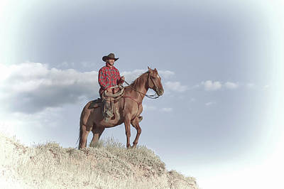 Photograph - Cowboy by Kay Brewer