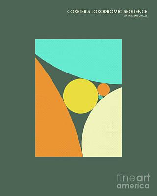 Formula Wall Art - Digital Art - Coxeter Sequence 2 by Jazzberry Blue