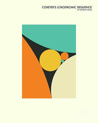 Formula Wall Art - Digital Art - Coxeter Sequence by Jazzberry Blue