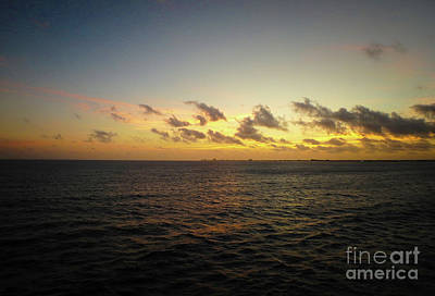 Photograph - Cozumel Sunrise by Judy Hall-Folde
