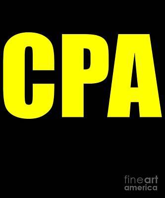 Cpas Wall Art - Digital Art - CPA by Flippin Sweet Gear