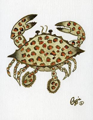 Painting - Crab Animal Print by Stephanie Agliano