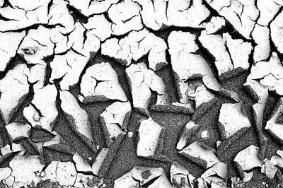 Photograph - Cracked Earth by Fabrizio Troiani