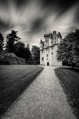Fantasy Royalty-Free and Rights-Managed Images - Craigievar Castle by Dave Bowman