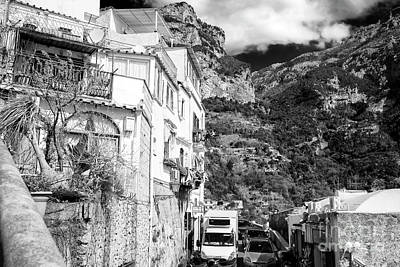 Photograph - Cramped In Positano by John Rizzuto