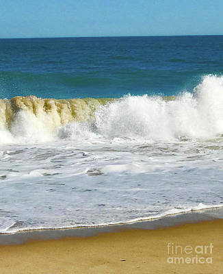 Photograph - Crashing Wave 1  by Deborah Miller