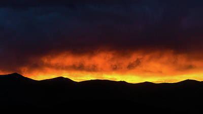 Photograph - Craters Of The Moon Idaho Sunset by Lawrence S Richardson Jr