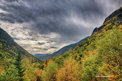 Dan Beauvais Royalty-Free and Rights-Managed Images - Crawford Notch 7315 by Dan Beauvais