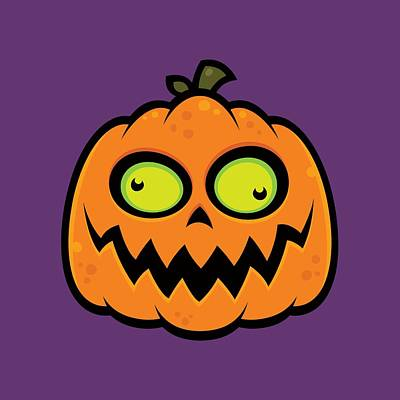 Royalty-Free and Rights-Managed Images - Crazy Pumpkin by John Schwegel
