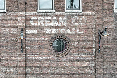 Photograph - Cream Co And Retail by Sharon Popek