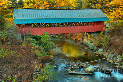Photograph - Creamery Bridge Crossing by Adam Jewell
